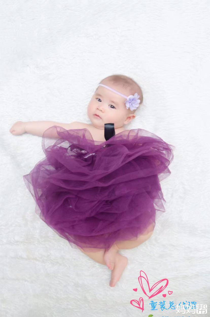 宝宝百天照图片