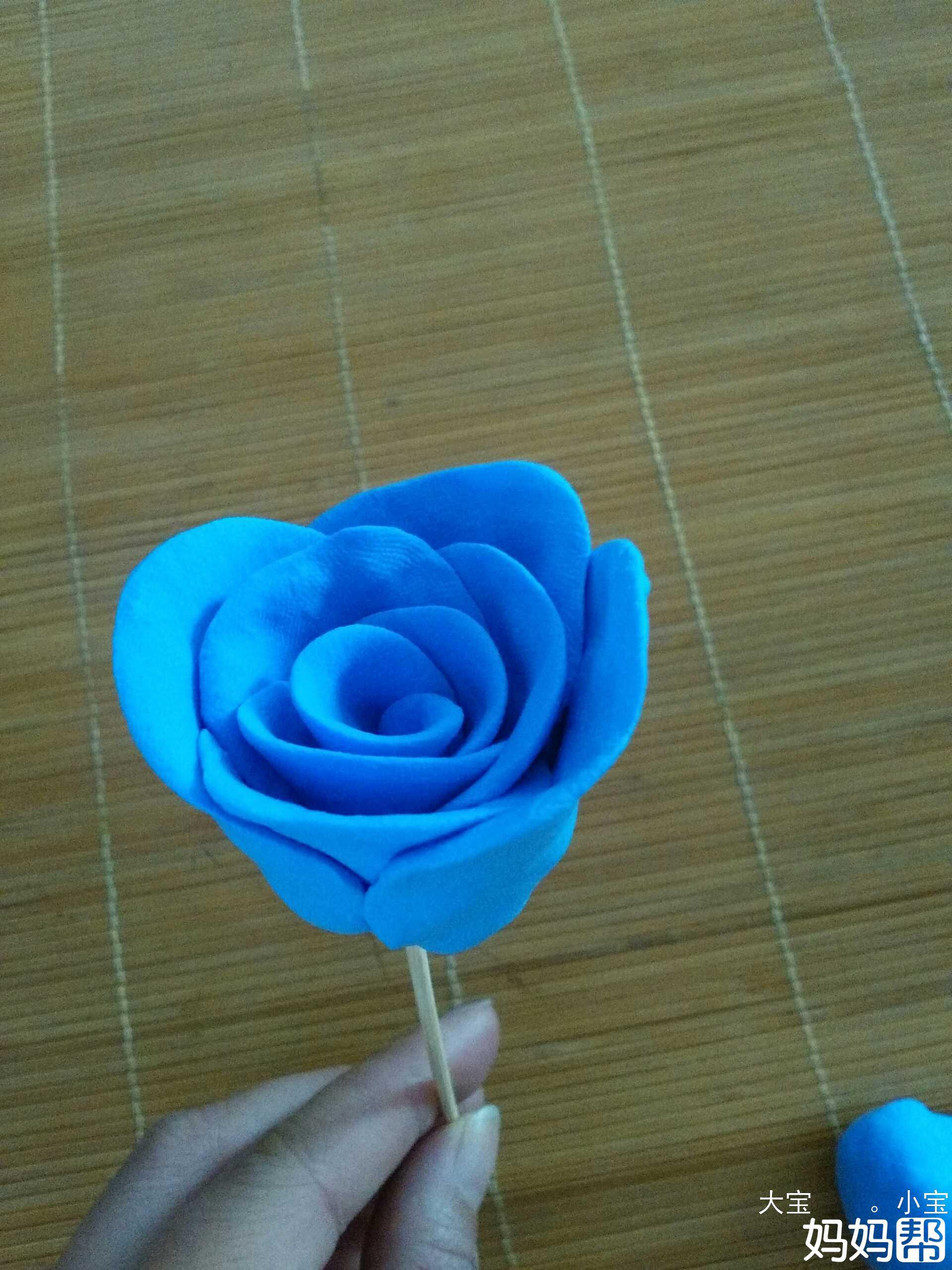 【巧手diy学院】粘土款玫瑰花