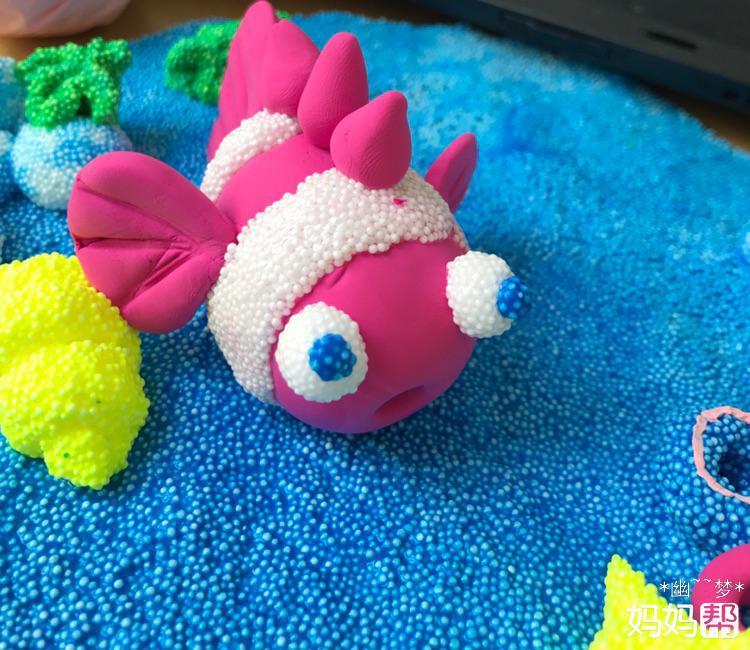【我要快乐过六一】小小海底世界——超轻粘土小创作