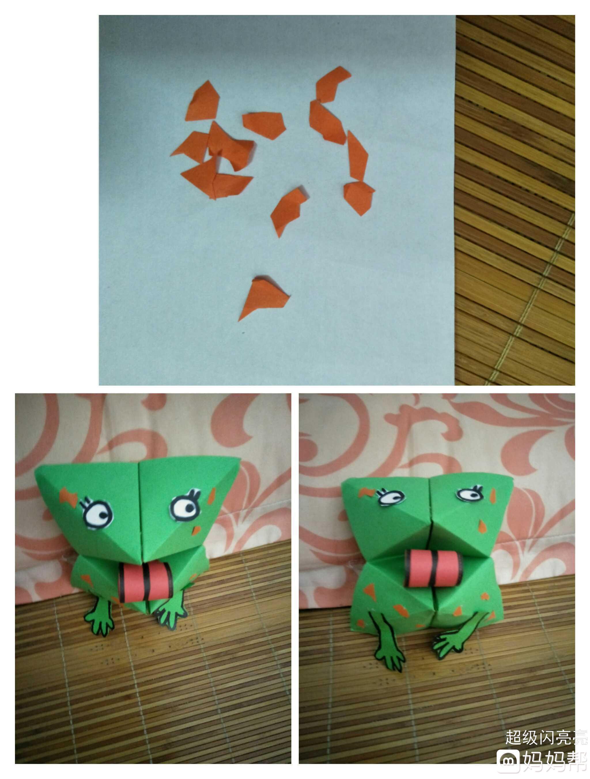 【指尖上的小动物】手工折纸之大嘴巴纸玩偶!