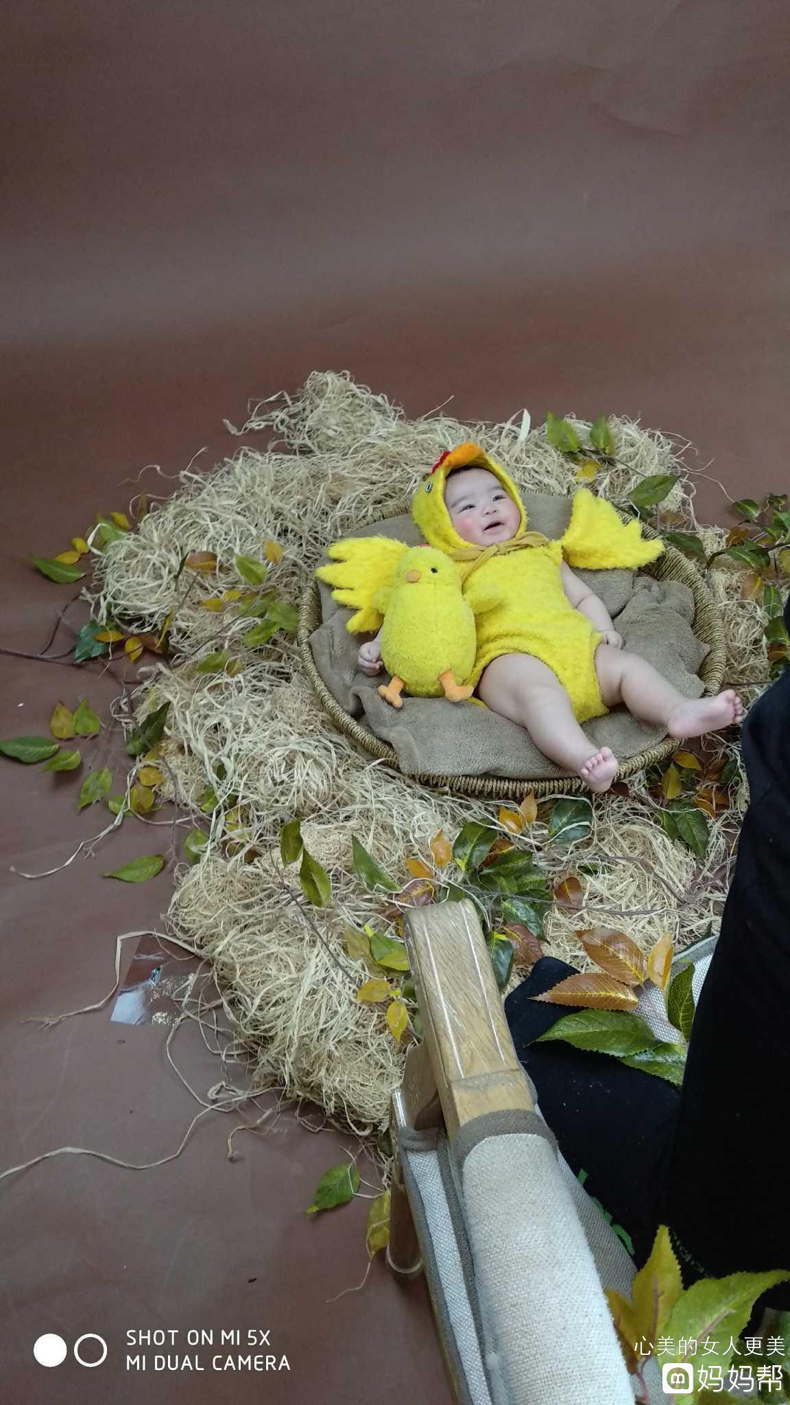 这是宝宝的100天照