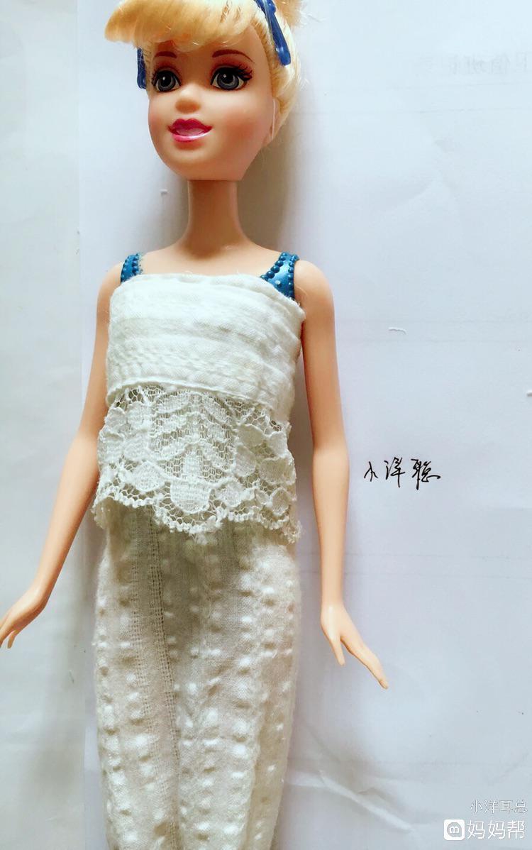 给芭比娃娃做背带裙图片 纵览新闻