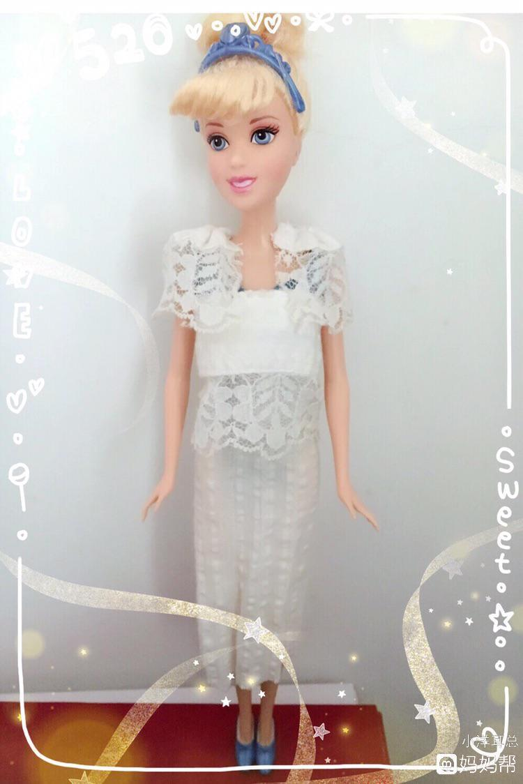 同趣style 给芭比娃娃做裙子