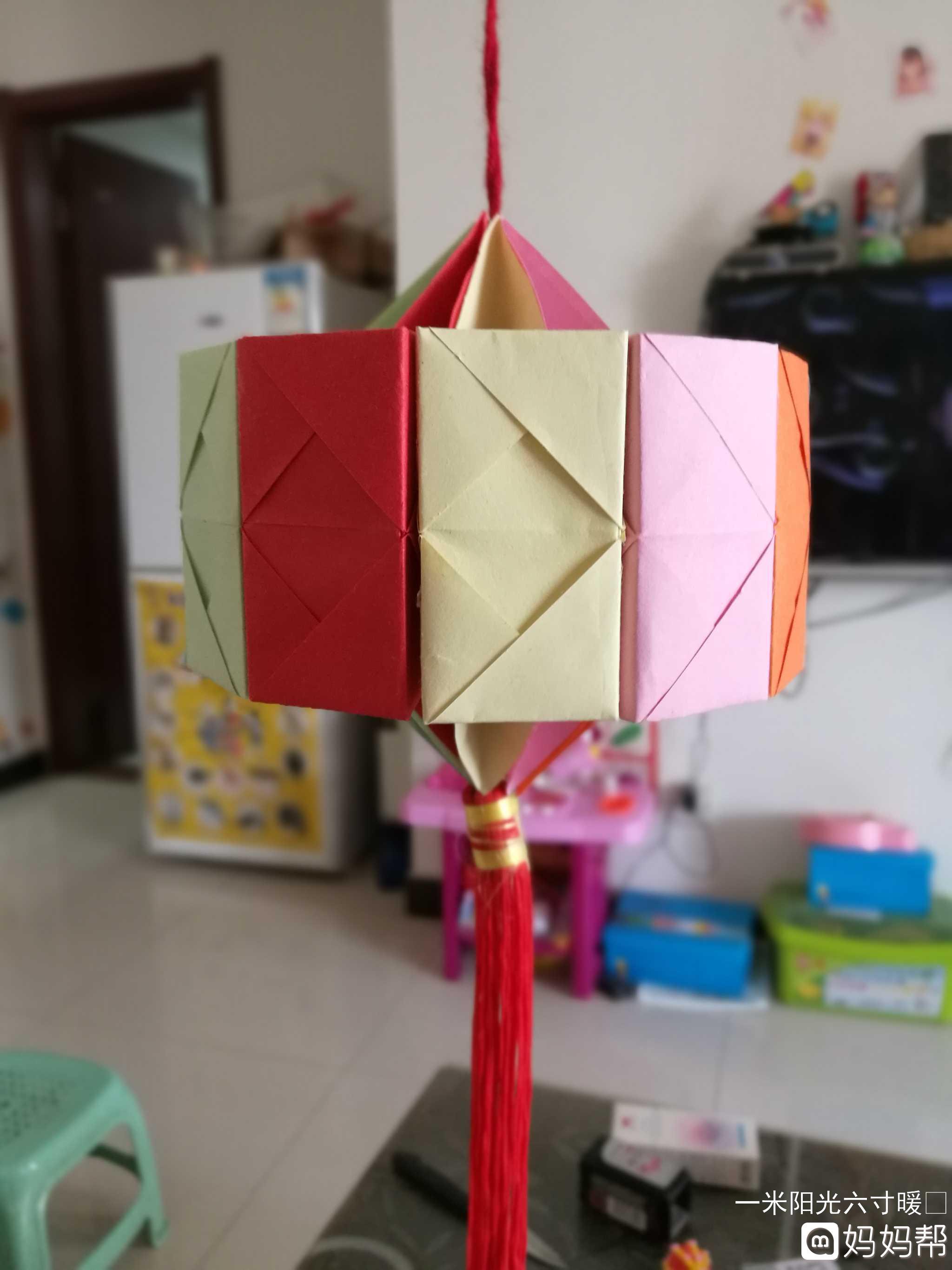 小汤圆折纸步骤图片