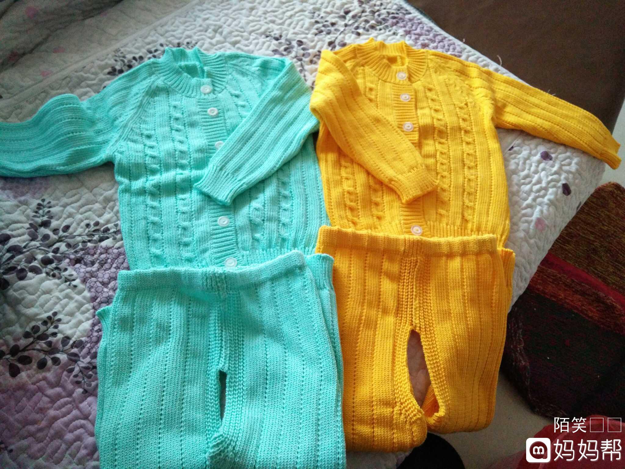 婴儿纱衣图片编织方法