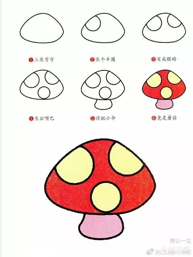儿童简笔画__各种蔬菜 - 90后妈妈 - 妈妈帮