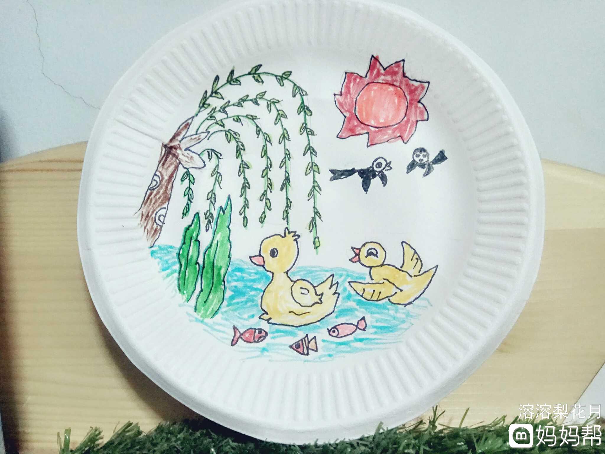 幼儿园的作业-画一幅关于春天的