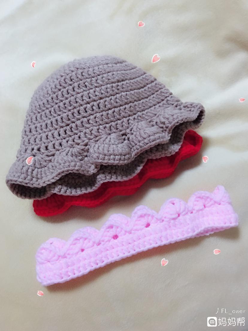 钩针编织宝宝帽