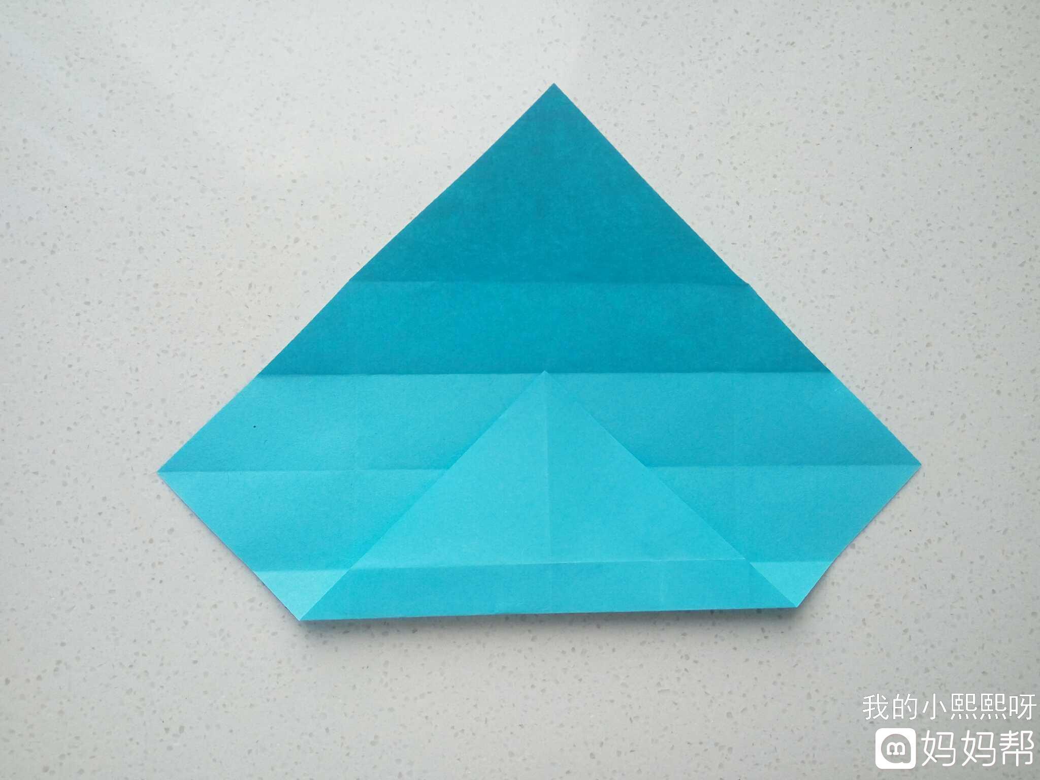 同趣style#创意折纸——长方形收纳盒