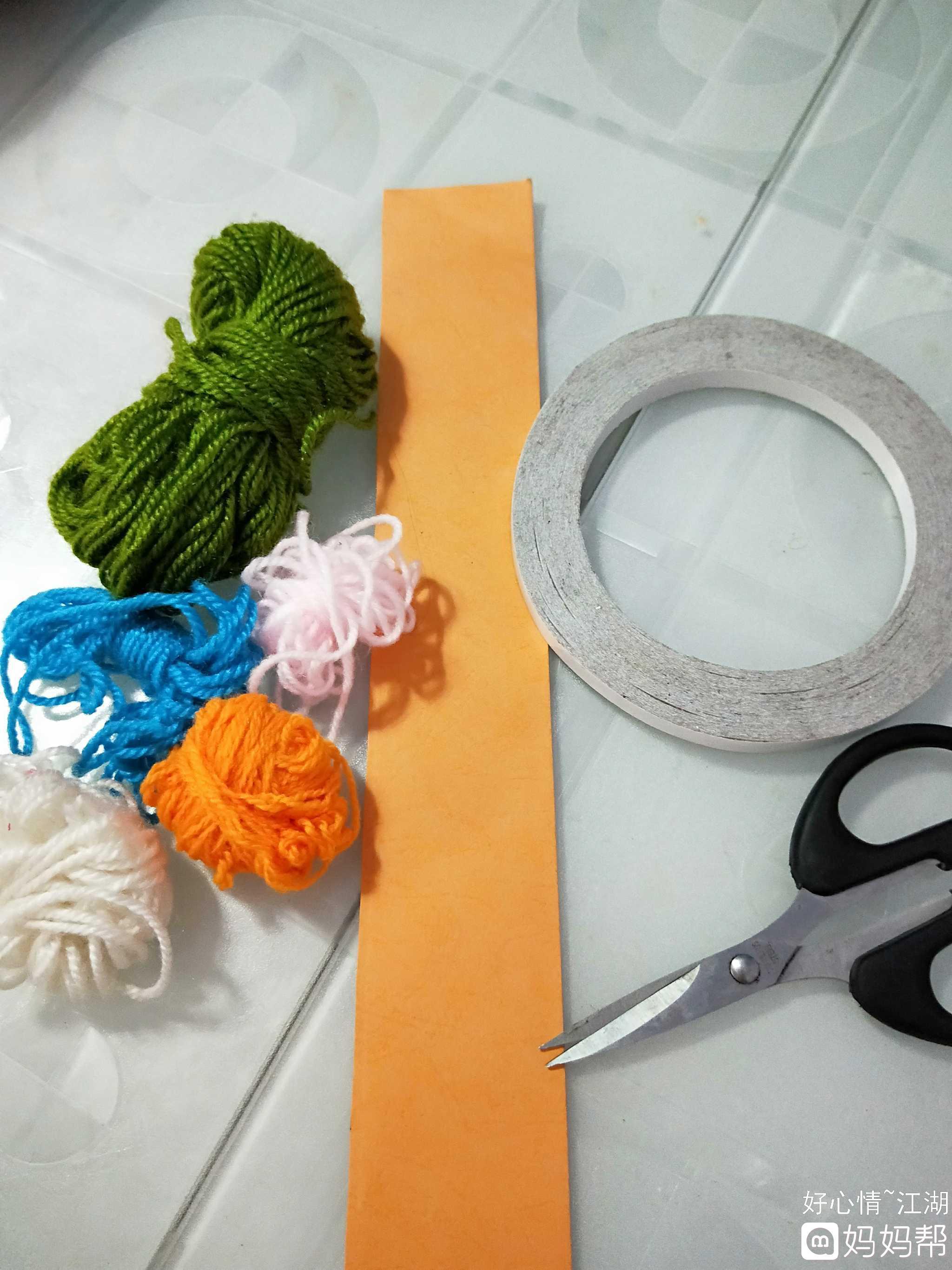 纸折粽子的步骤图片