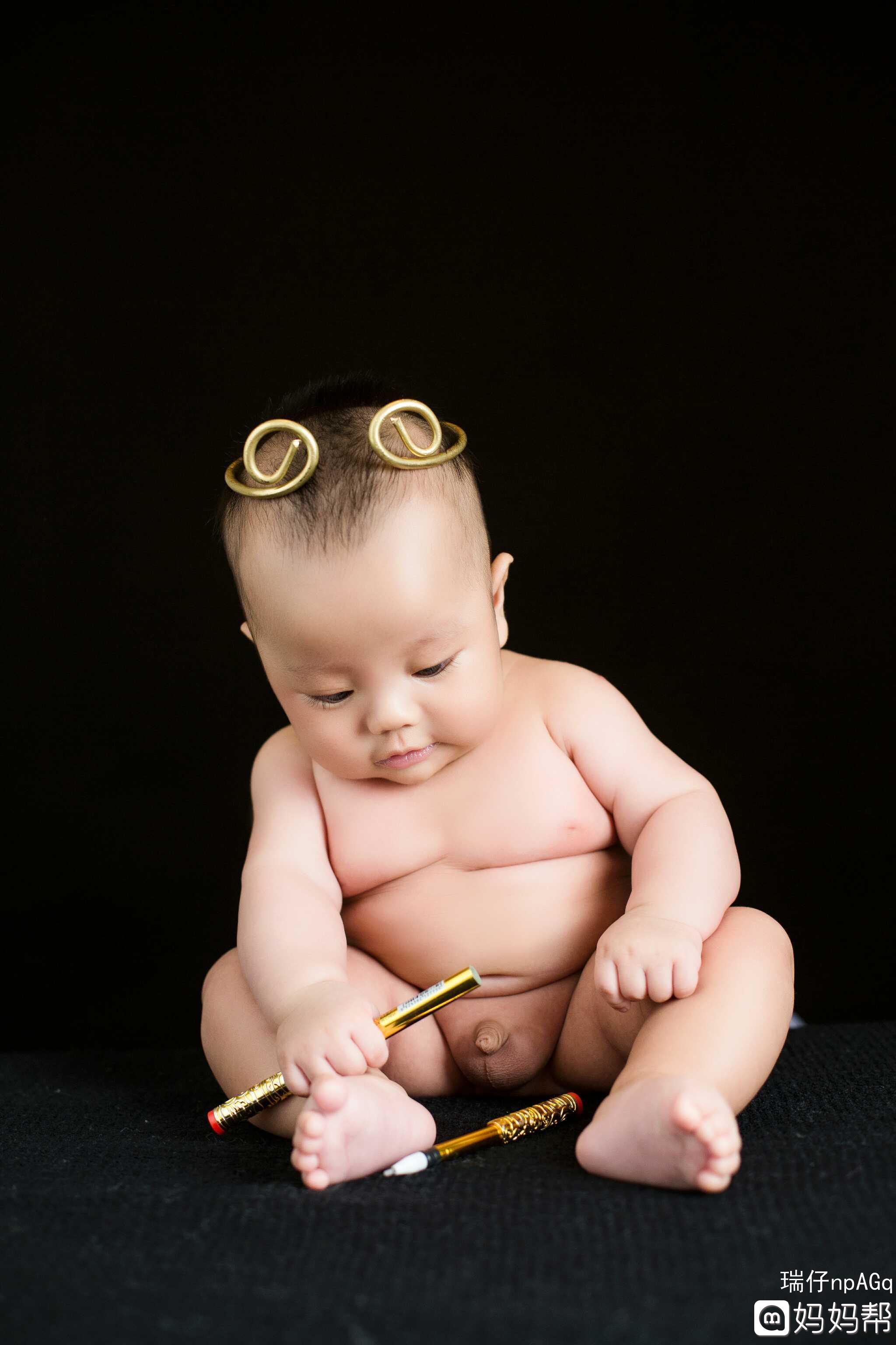 宝宝 一百天照图片