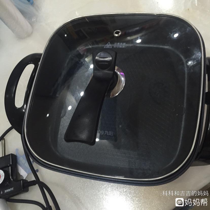图二九阳电锅多功能电热家用煮面炒菜锅电火火锅锅烧烤一体锅2-4-6人
