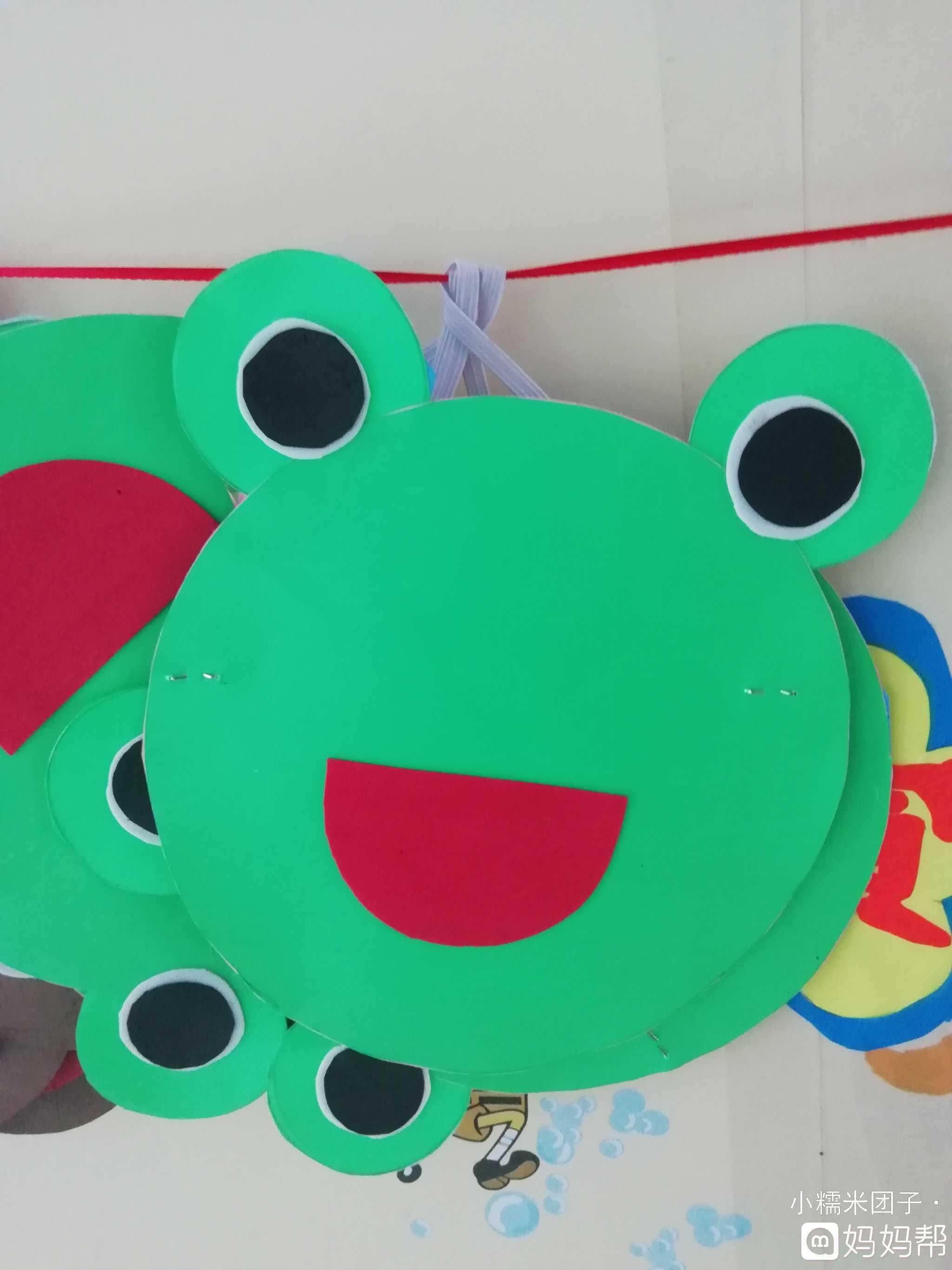 幼儿园表演区各种可爱动物头饰