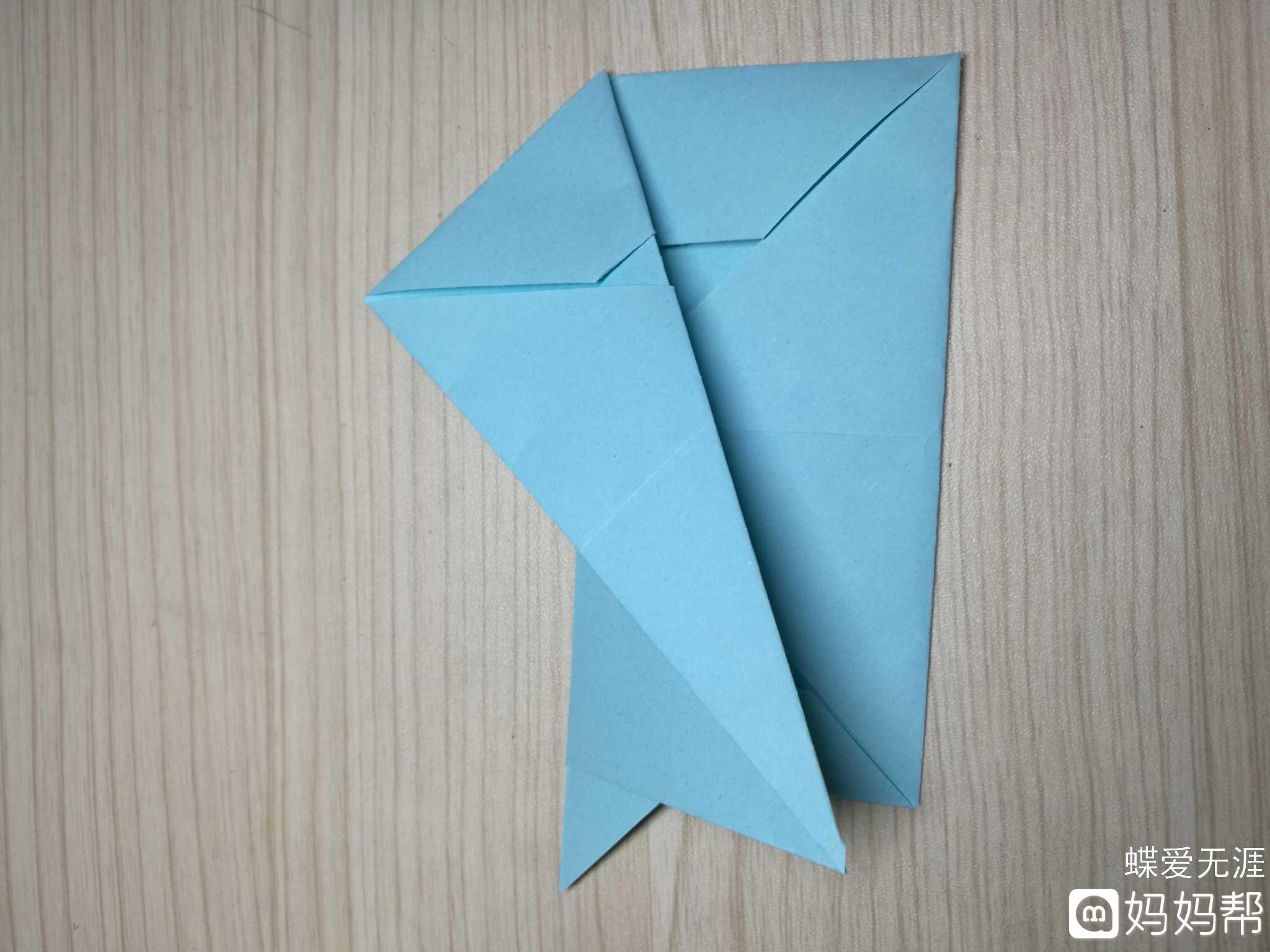 手工日记#折纸小狗汪汪汪 制作步骤