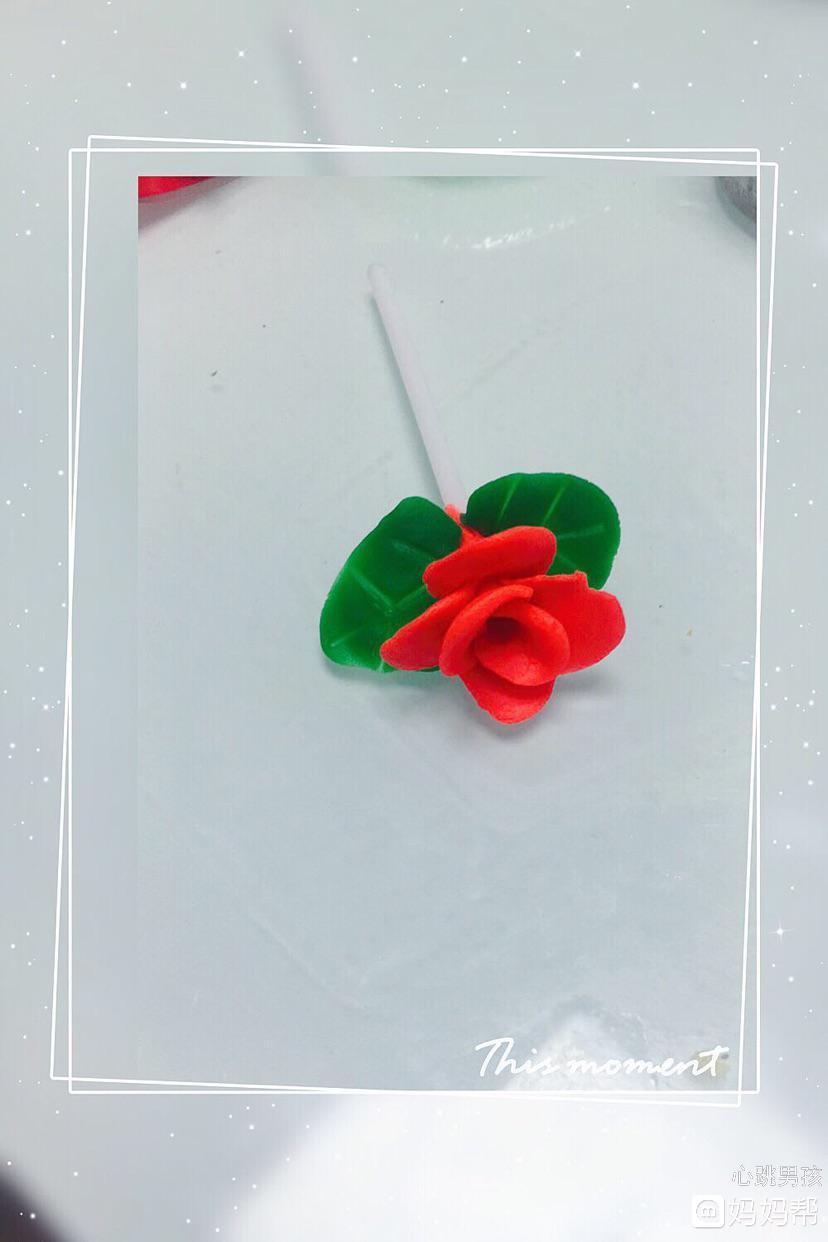 彩泥制作玫瑰花,一起来学各位宝妈
