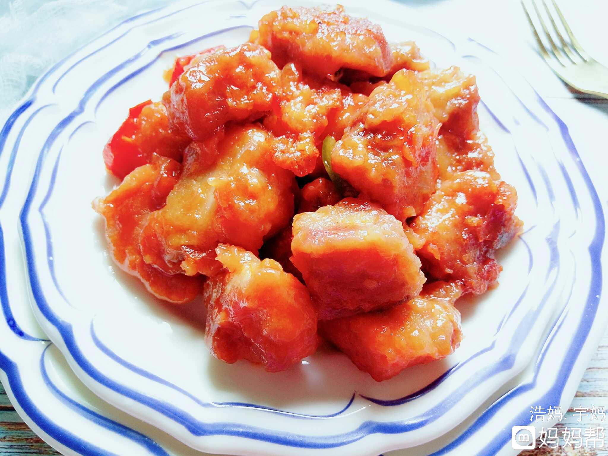 【九阳杜仲】酸酸甜甜好排骨美食酸甜产妇能喝味道炖猪腰图片