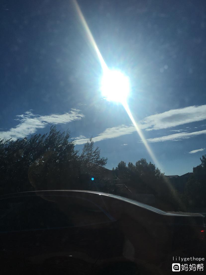 【国庆七日晒】第1天:蔚蓝天空下的一(1)米阳光
