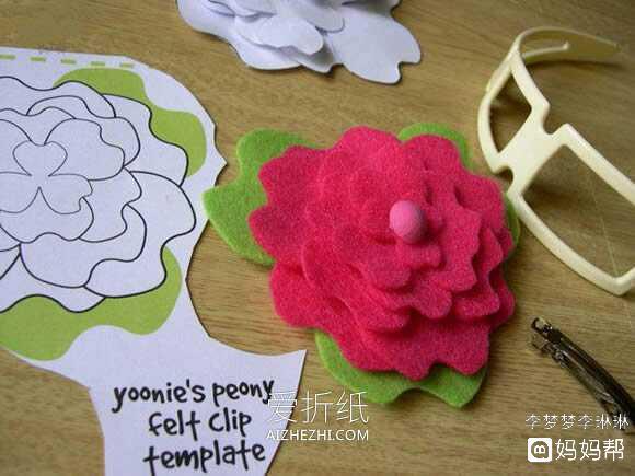 *猜你喜欢*                            不织布手工制作花朵发箍的