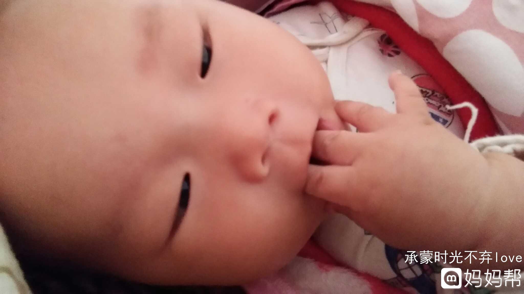 宝宝吃手部分照片