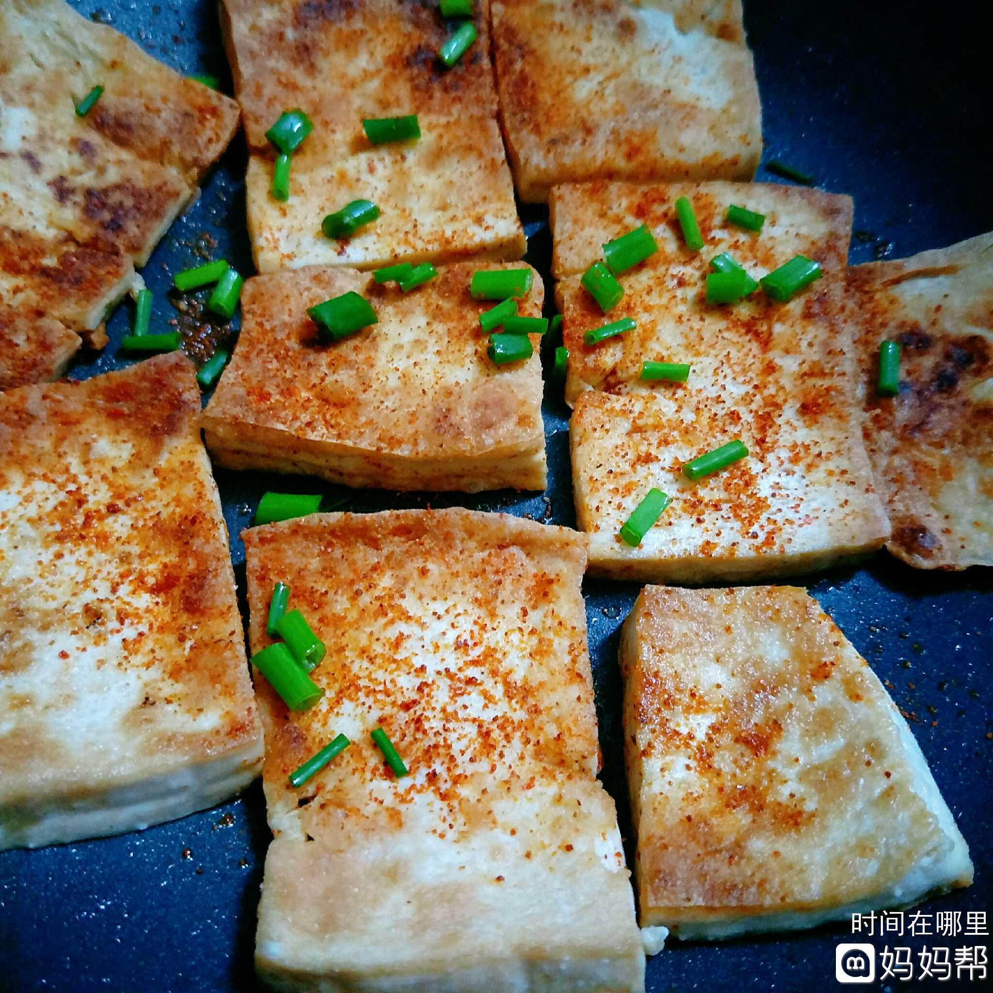 块_香煎豆腐块儿