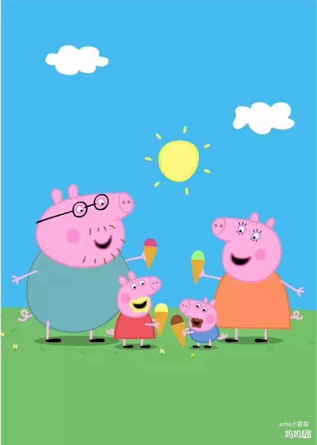 主要讲小猪佩奇和爸爸妈妈