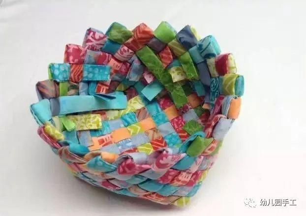 【创意手工】幼儿园创意手工制作:花篮 风信子