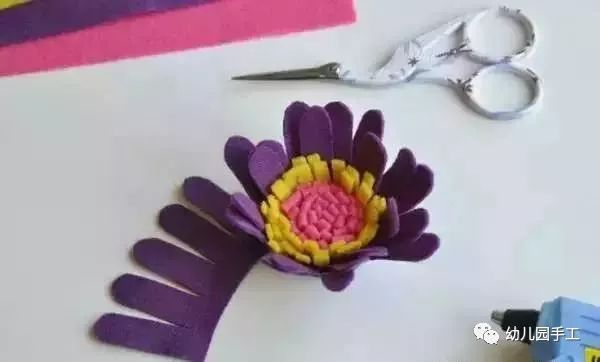 【手工花朵】幼儿园手工花制作大全,太美了!一定要收藏起来!