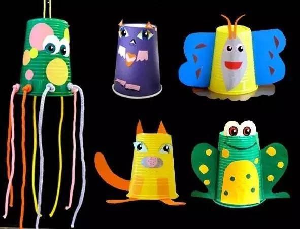 【纸杯手工】100种幼儿园纸杯创意手工制作,不可错过!
