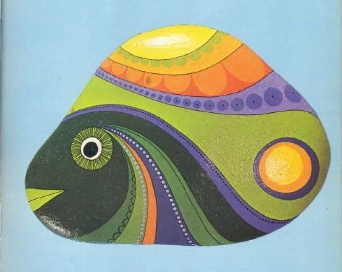 【教程】石头彩绘工具选择及绘画技巧