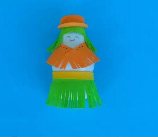 【酸奶瓶手工】酸奶瓶创意手工制作,幸福感爆棚啦!