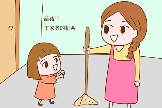 妈妈懒一些,让孩子学会干家务,孩子才能理解父母,明白父母的不容易
