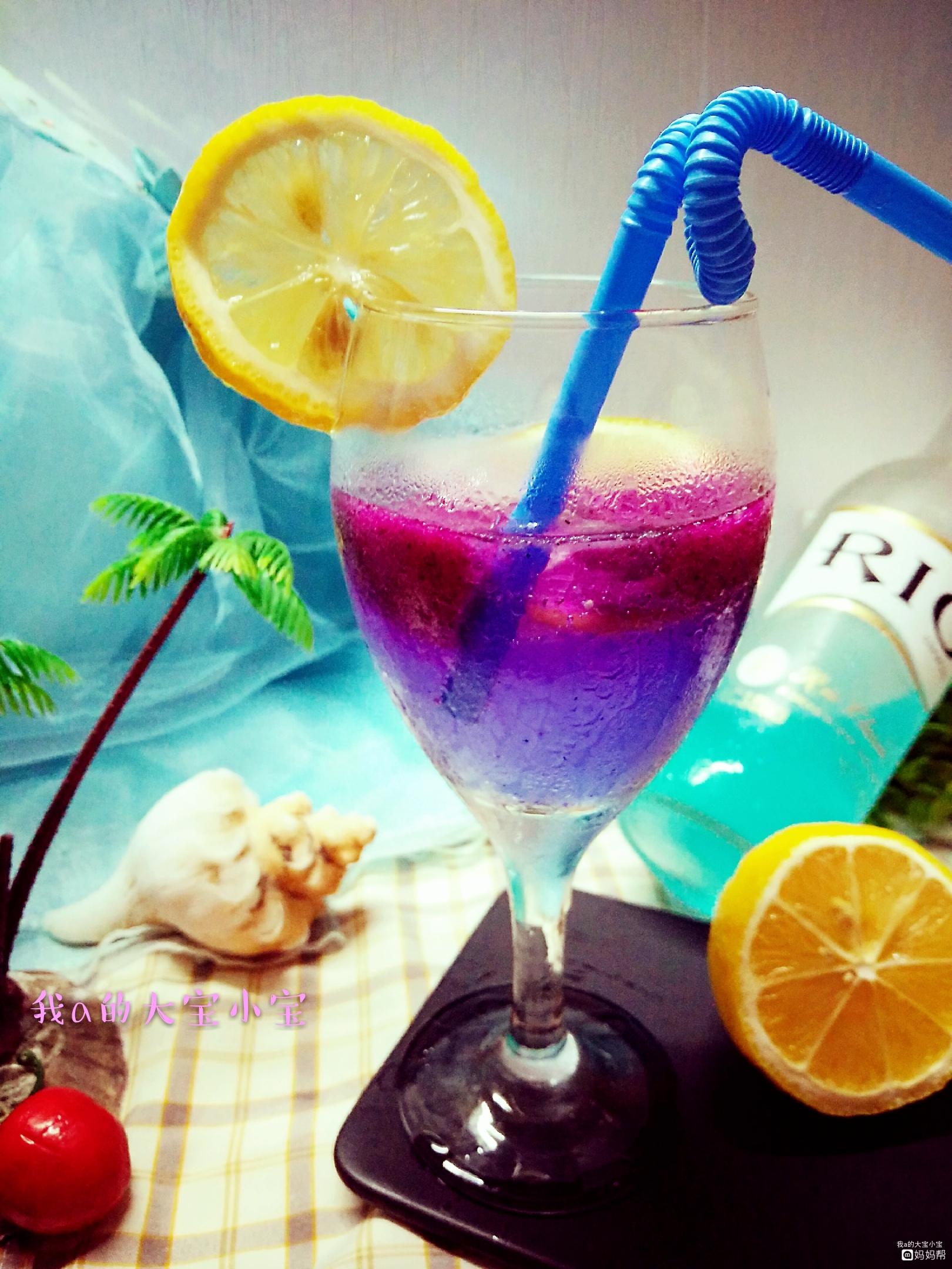 【夏日美食】 夏日饮品~蓝色海洋之心!
