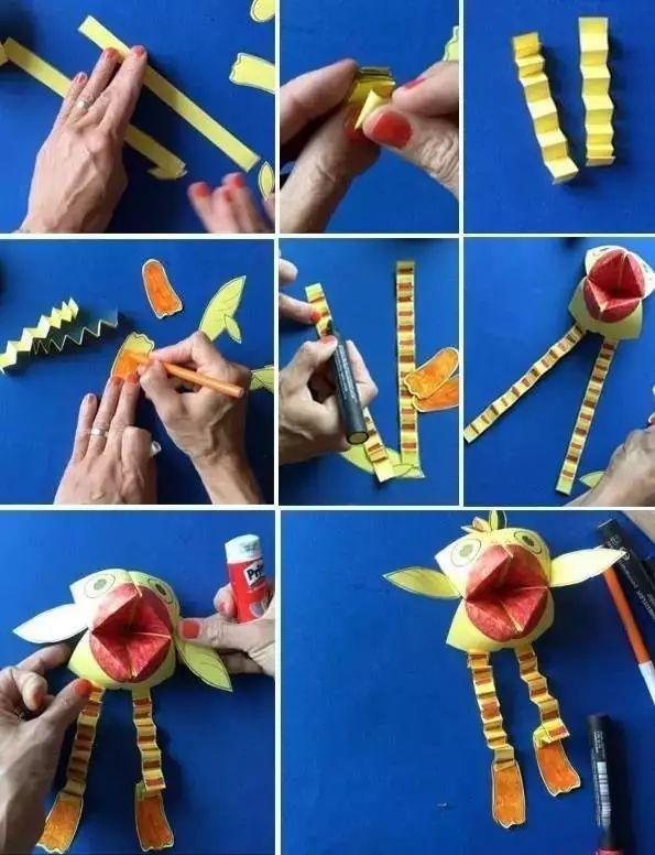 秋季学期开学必备手工制作教程!关键是孩子们非常的喜欢哦!