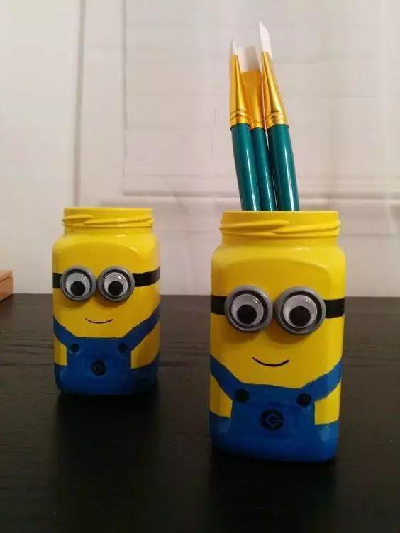 笔筒的制作方法