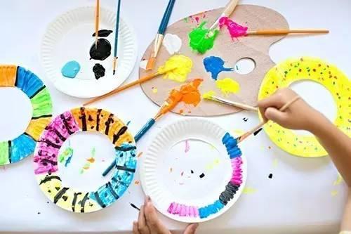 幼儿园创意手工绘画!孩子太爱玩了!图片